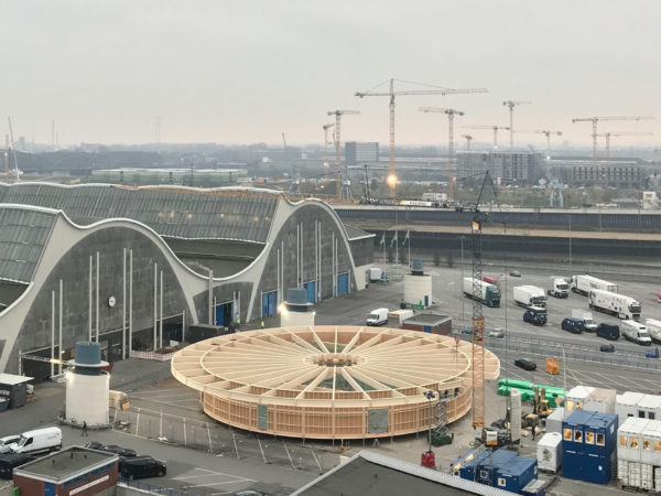News thumbnail by Construction Begins at Großmarkt Theatre Pavilion